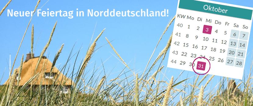 Reformationstag im norddeutschen Kalender 2018