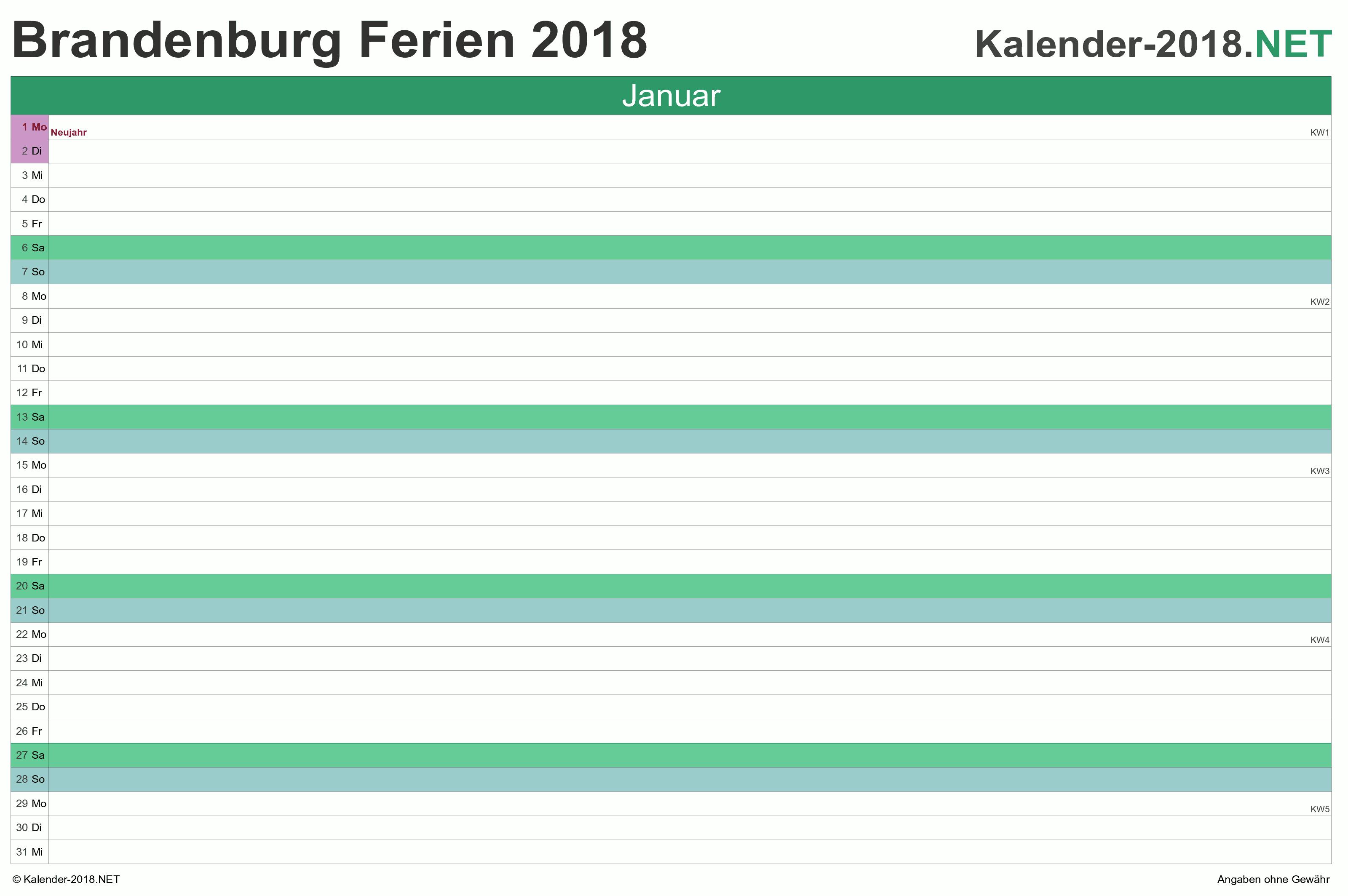 Brandenburg Ferien 2020 Brandenburg Feiertage 2020