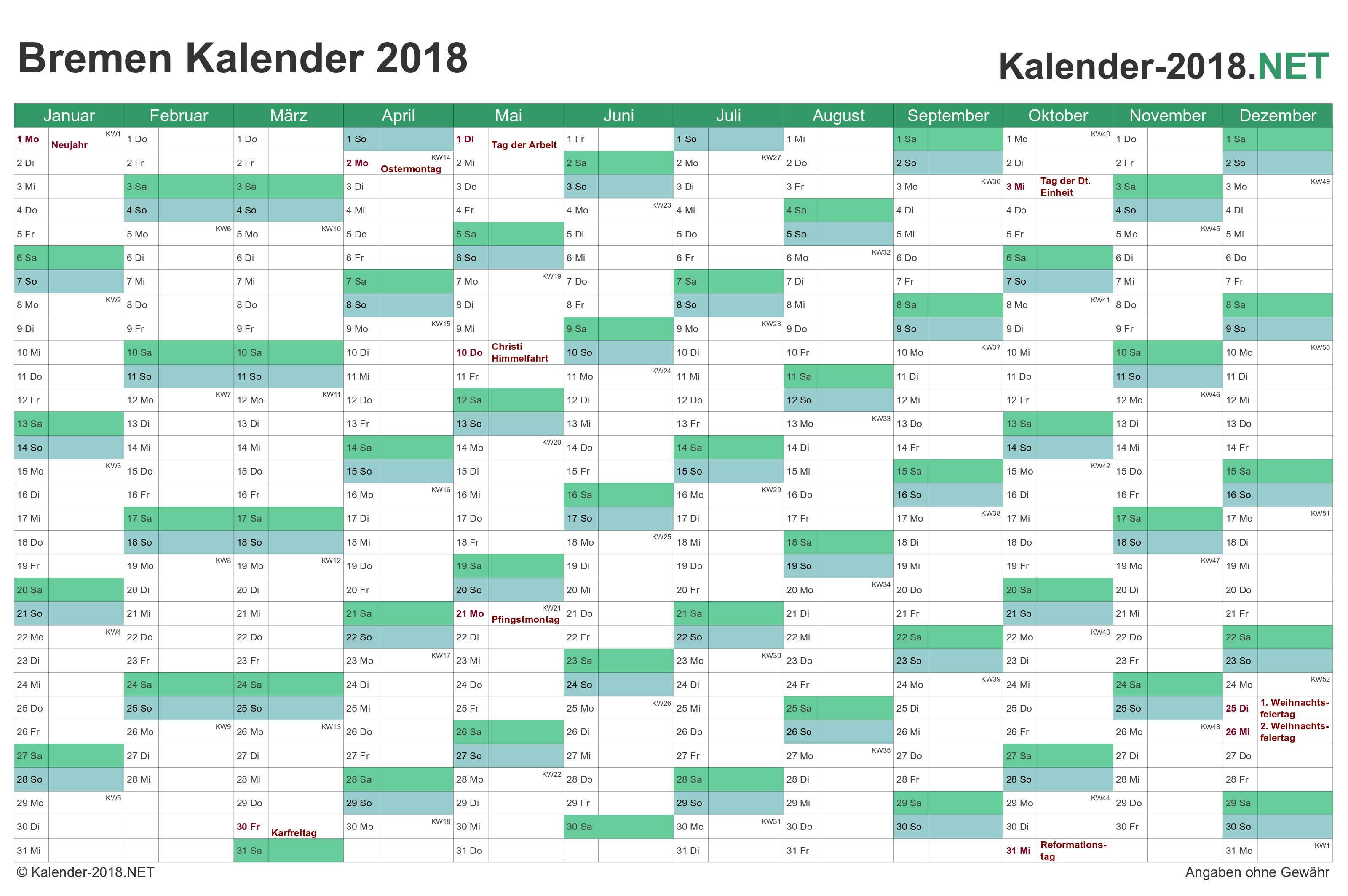 Wunderbar Kostenlose Jährliche Kalendervorlagen Ideen - Beispiel ...