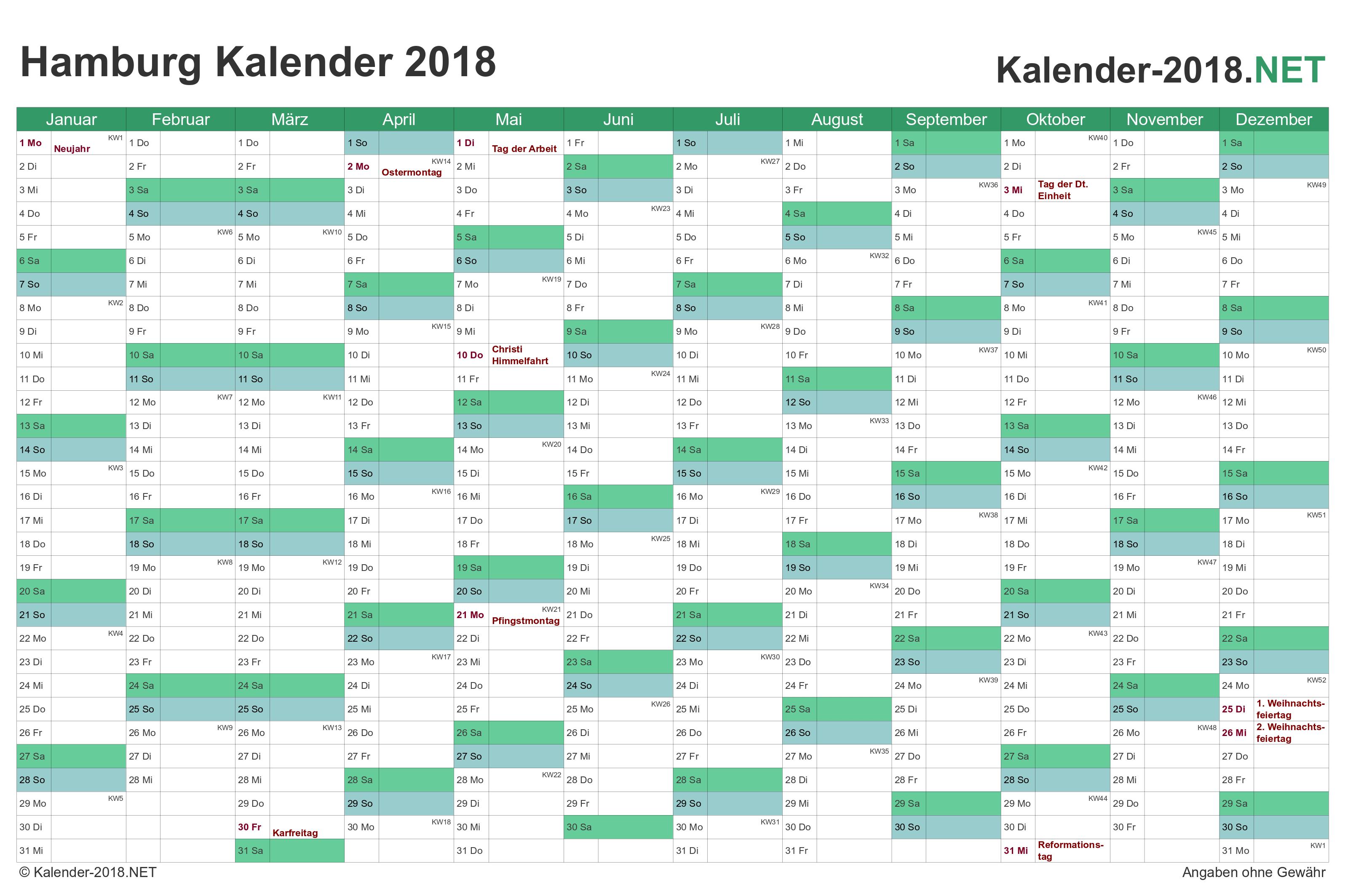 kalender 2018 excel - Ideal.vistalist.co
